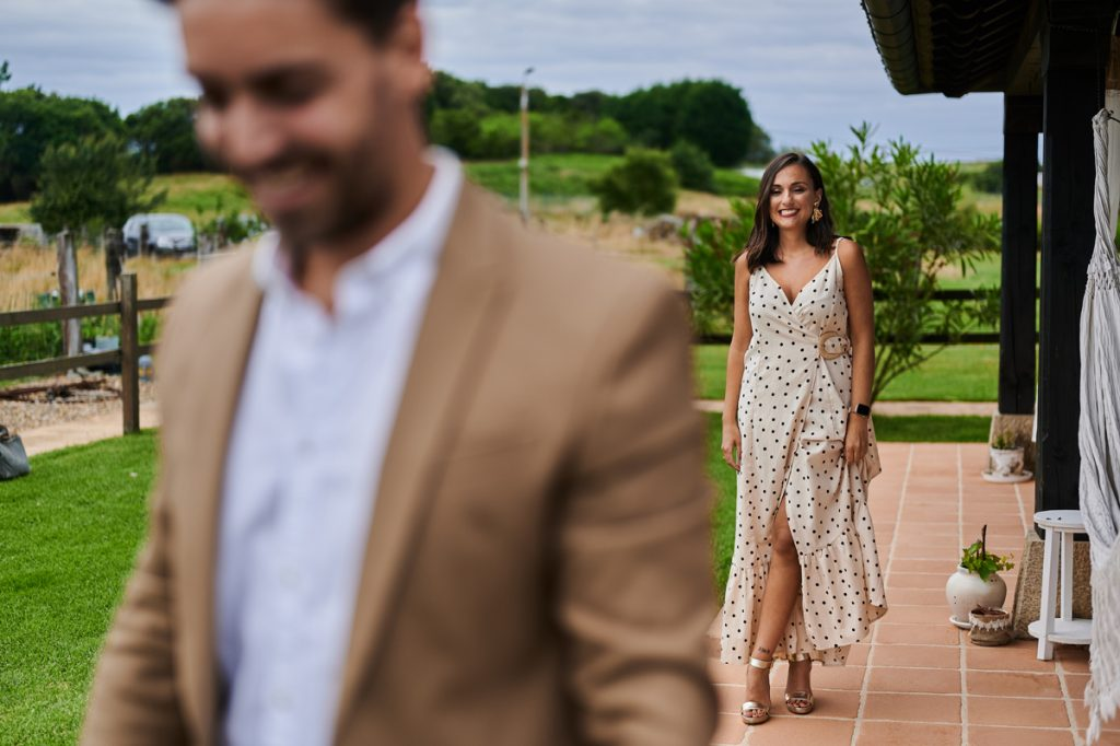 Los novios celebraron su boda en el impresionante entorno de los apartamentos Salvarrey